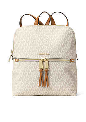 156911eb1311de MICHAEL Michael Kors Rhea Zip Medium Slim Backpack ...