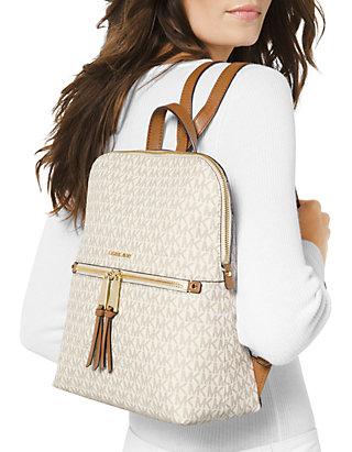 1d0201008482 ... MICHAEL Michael Kors Rhea Zip Medium Slim Backpack