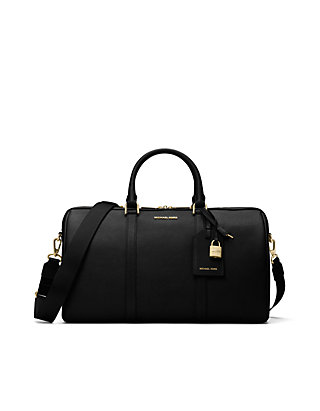 416639f4000776 MICHAEL Michael Kors Jet Set Travel Large Leather Weekender | belk