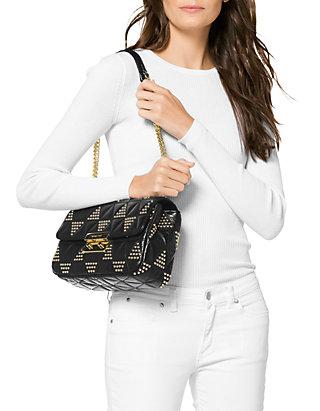 917ffbd6058ac0 MICHAEL Michael Kors Sloan Large Chain Shoulder Bag | belk