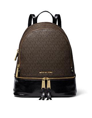 295c749039f2dc MICHAEL Michael Kors Rhea Medium Logo Backpack | belk