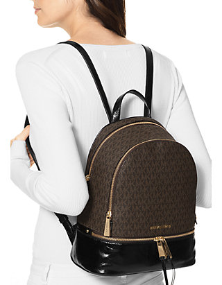 2948d00a3e57 MICHAEL Michael Kors Rhea Medium Logo Backpack | belk