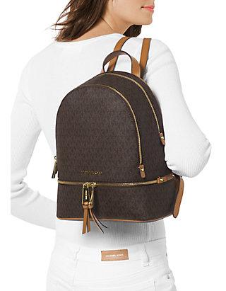 529f9a99b31f ... MICHAEL Michael Kors Rhea Zip Medium Backpack