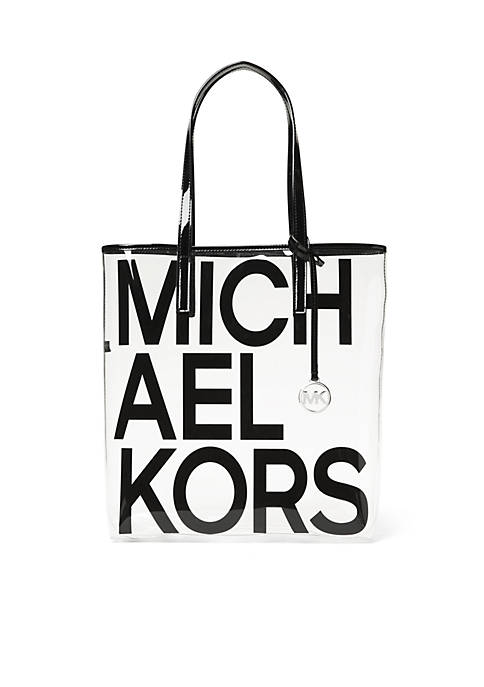 MICHAEL Michael Kors The Michael Bag Large Clear
