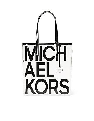 025931b7216f MICHAEL Michael Kors The Michael Bag Large Clear Tote ...