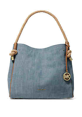 916f53c17e9 MICHAEL Michael Kors Isla Large Grab Bag ...