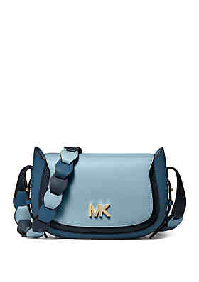 222dbbbbb37d MICHAEL Michael Kors Jolene Small Saddle Crossbody ...