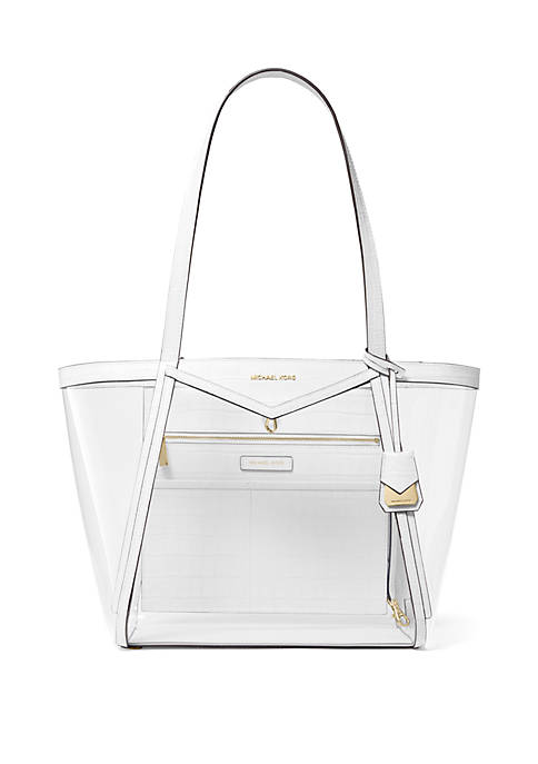Whitney Large Clear Tote Bag