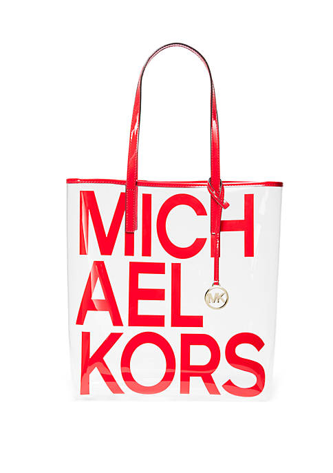 The Michael Bag Clear Tote