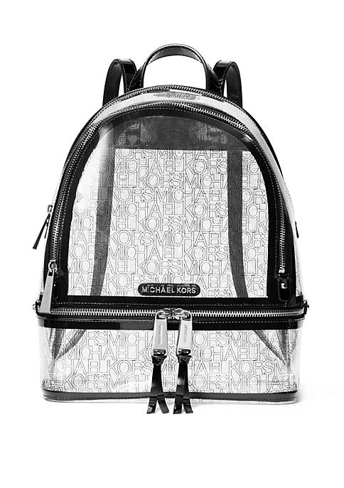 MICHAEL Michael Kors Rhea Medium Clear Backpack