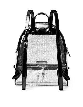 801e056f8f5a MICHAEL Michael Kors. MICHAEL Michael Kors Rhea Medium Clear Backpack