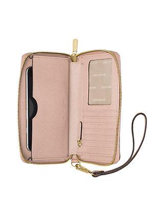 1ddbbc1b47ef MICHAEL Michael Kors Kors Studio Mercer Large Flat Phone Case | belk