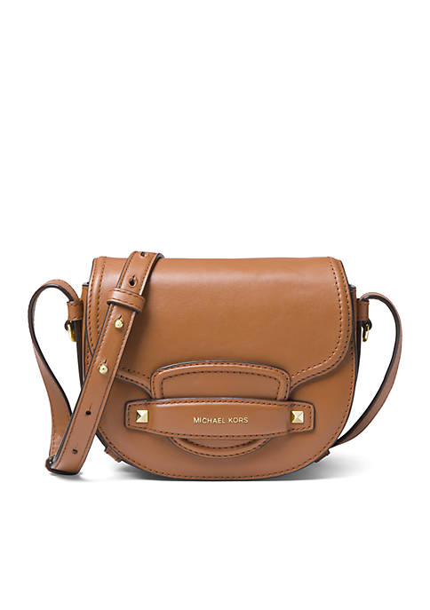 MICHAEL Michael Kors Cary Small Saddle Crossbody