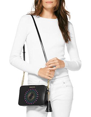 9113718c3dc1 ... MICHAEL Michael Kors Ginny Star Medium Camera Bag