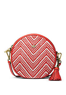 MICHAEL Michael Kors Medium Woven Canteen Crossbody