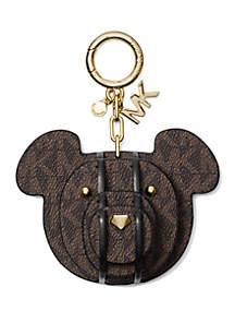 3D Bear Charm Key Fob