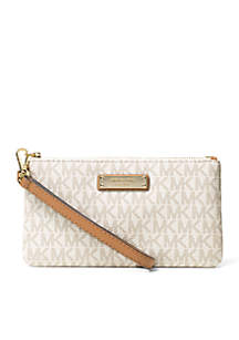 ... MICHAEL Michael Kors Jet Set Item Medium Wristlet