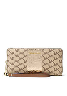 MICHAEL Michael Kors Center Stripe Jet Set Travel Continental