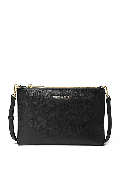 Large Double Pouch Crossbody Bag