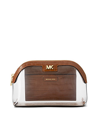 d9375e56baea MICHAEL Michael Kors. MICHAEL Michael Kors Large Clear Travel Pouch