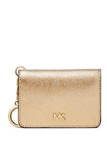 MICHAEL Michael Kors Key Ring Card Wallet