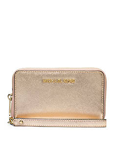 MICHAEL Michael Kors Jet Set Large Flat Metallic Multifunction Phone Case for iPhone® 5, 6 and 6s