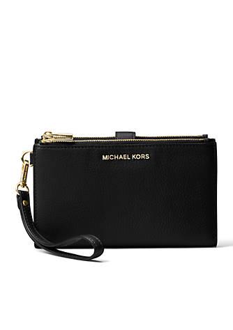 32d5195057de MICHAEL Michael Kors Adele Double Zip Wristlet | belk