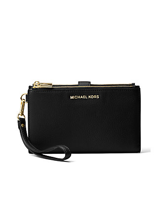 b9d0f6e51ba6 MICHAEL Michael Kors Adele Double Zip Wristlet ...