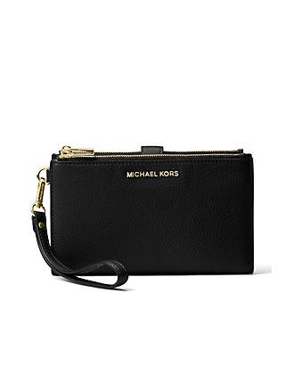 60901db8f224 MICHAEL Michael Kors Adele Double Zip Wristlet ...