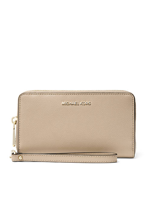 MICHAEL Michael Kors Mercer Larger Leather Wristlet