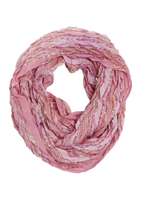 Collection XIIX Pleated Infinity Scarf
