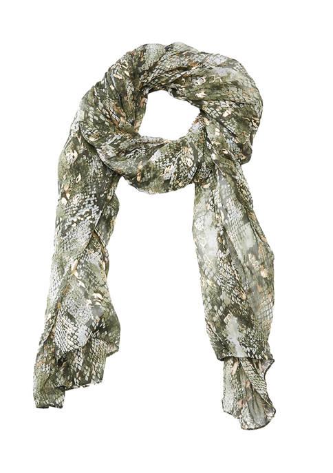 Collection XIIX Metallic Snake Wrap
