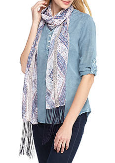 Collection XIIX Topangna Paisley Slimmy Scarf