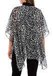 Leopard Single Layer Cover Scarf