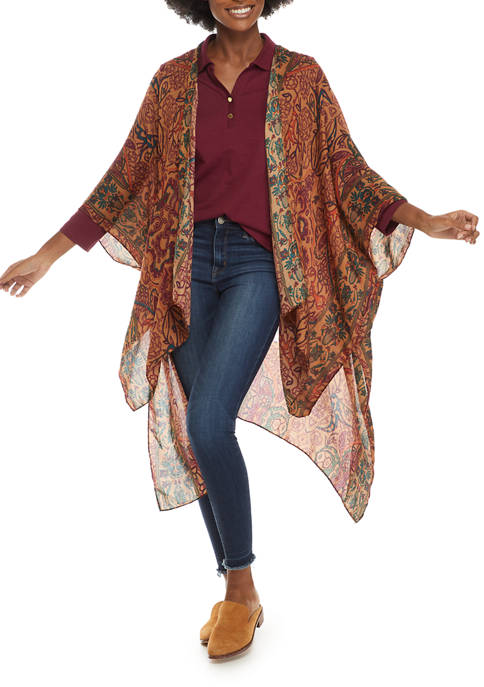 Tapestry High Low Topper