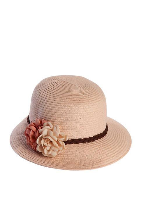 Chiffon Floral Hat