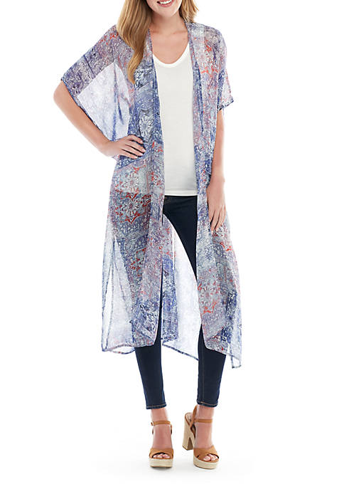 BCBGeneration Magic Textiles Kimono