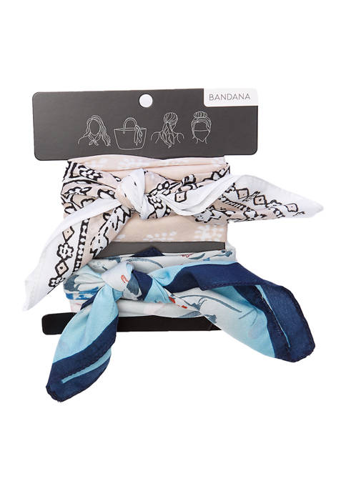 Collection XIIX Floral Bandanna Pack