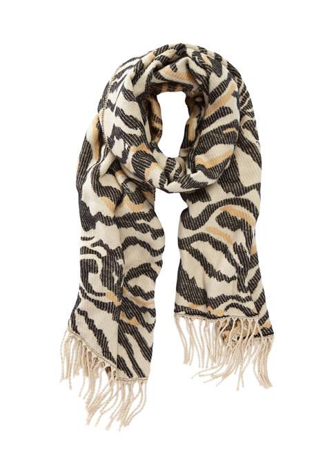 Collection XIIX Zebra Wrap Scarf