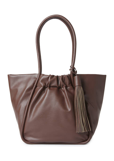 Collection XIIX Ruched Tote