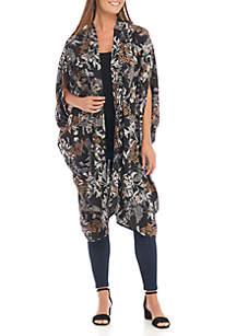 Folk Loric Floral Kimono
