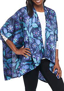 Folk Ruana Kimono