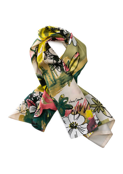 Accessory Street Floral Square Scarf