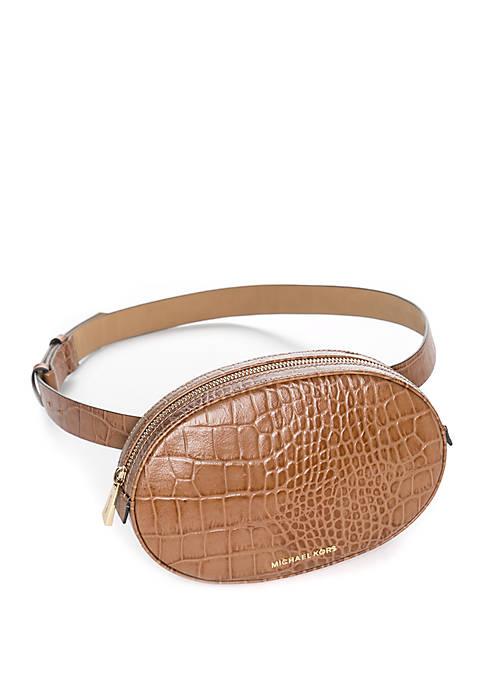 44af3183bc Michael Kors Crocodile Embossed Belt Bag