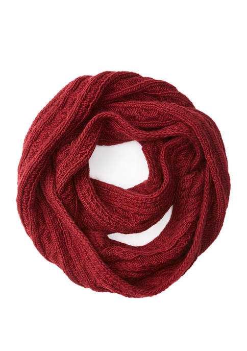 Michael Kors French Cable Infinity Scarf