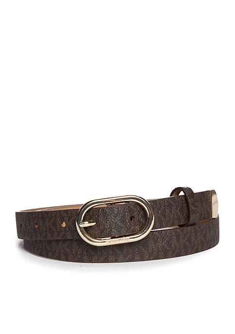 Michael Kors Logo Belt