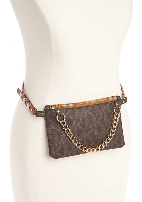 Michael Kors Belt Bag with Pull Chain