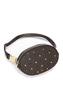 Studded Logo Belt Bag