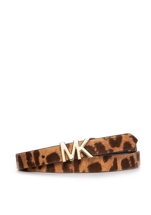 Michael Kors Skinny Haircalf Belt