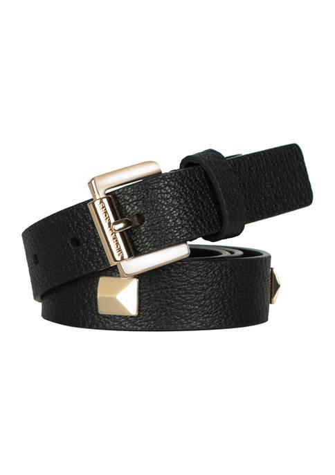 25 Millimeter Studded Belt